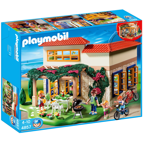 Cover of Zomerhuisje Playmobil