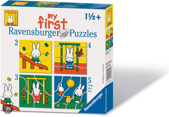Cover of Nijntje puzzels