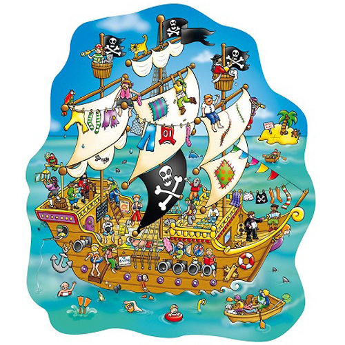 Cover of Puzzel Piraten Schip