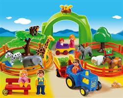 Cover of Dierentuin Playmobil 1.2.3.